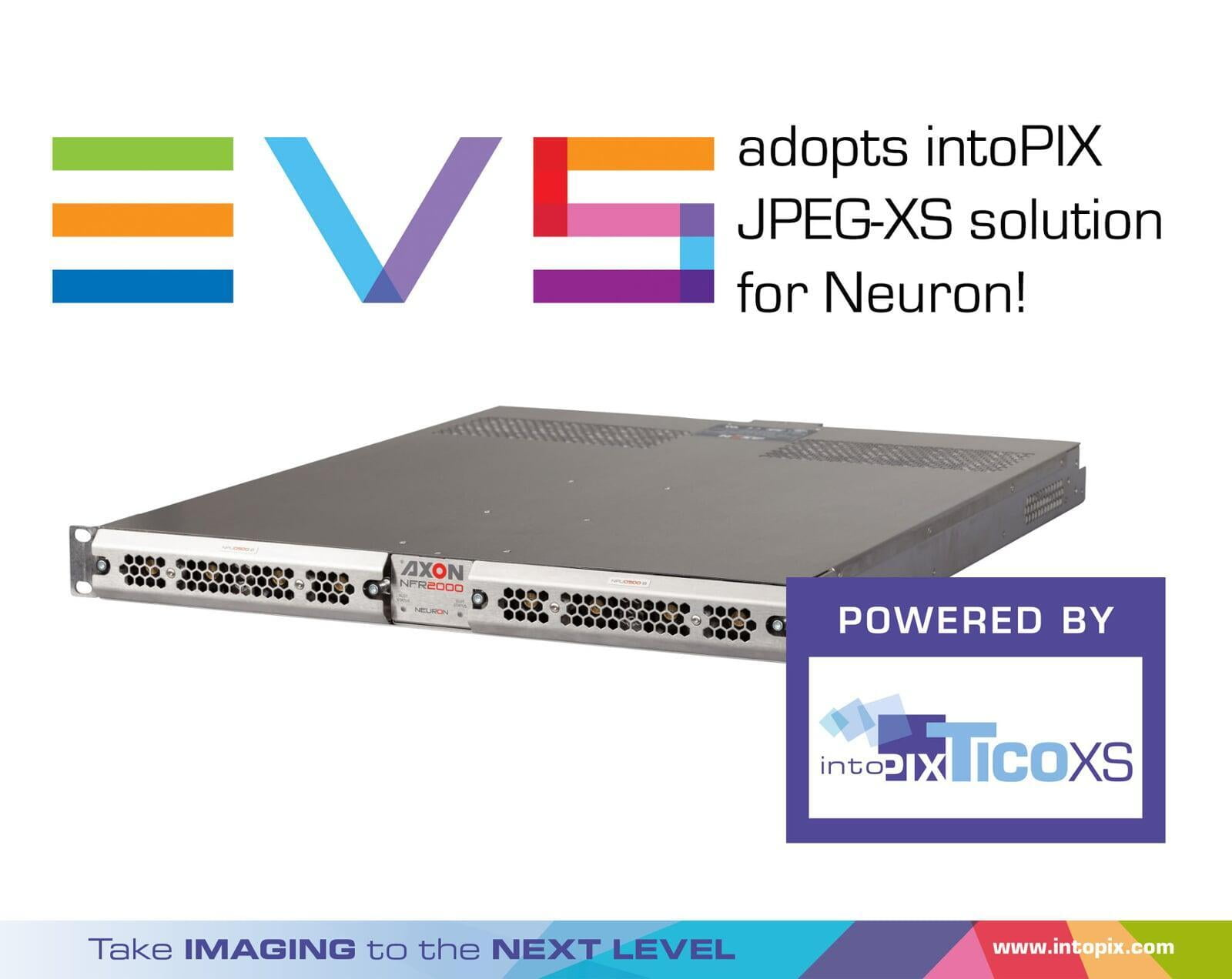 EVS Media Infrastructure adopts intoPIX JPEG-XS solution for Neuron
