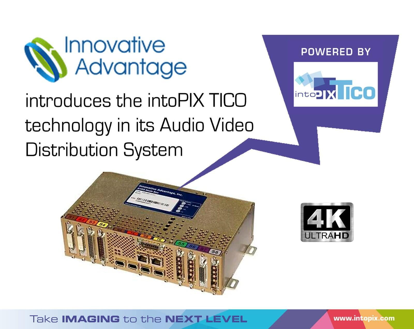 Innovative Advantage upgrades streams from HD to 4K in business jets with the intoPIX TICO RDD35 Technology
