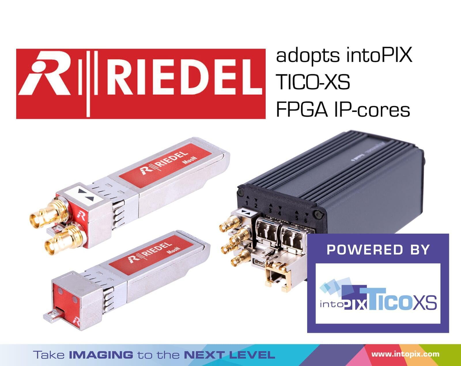 Riedel has integrated the new TICO-XS solution