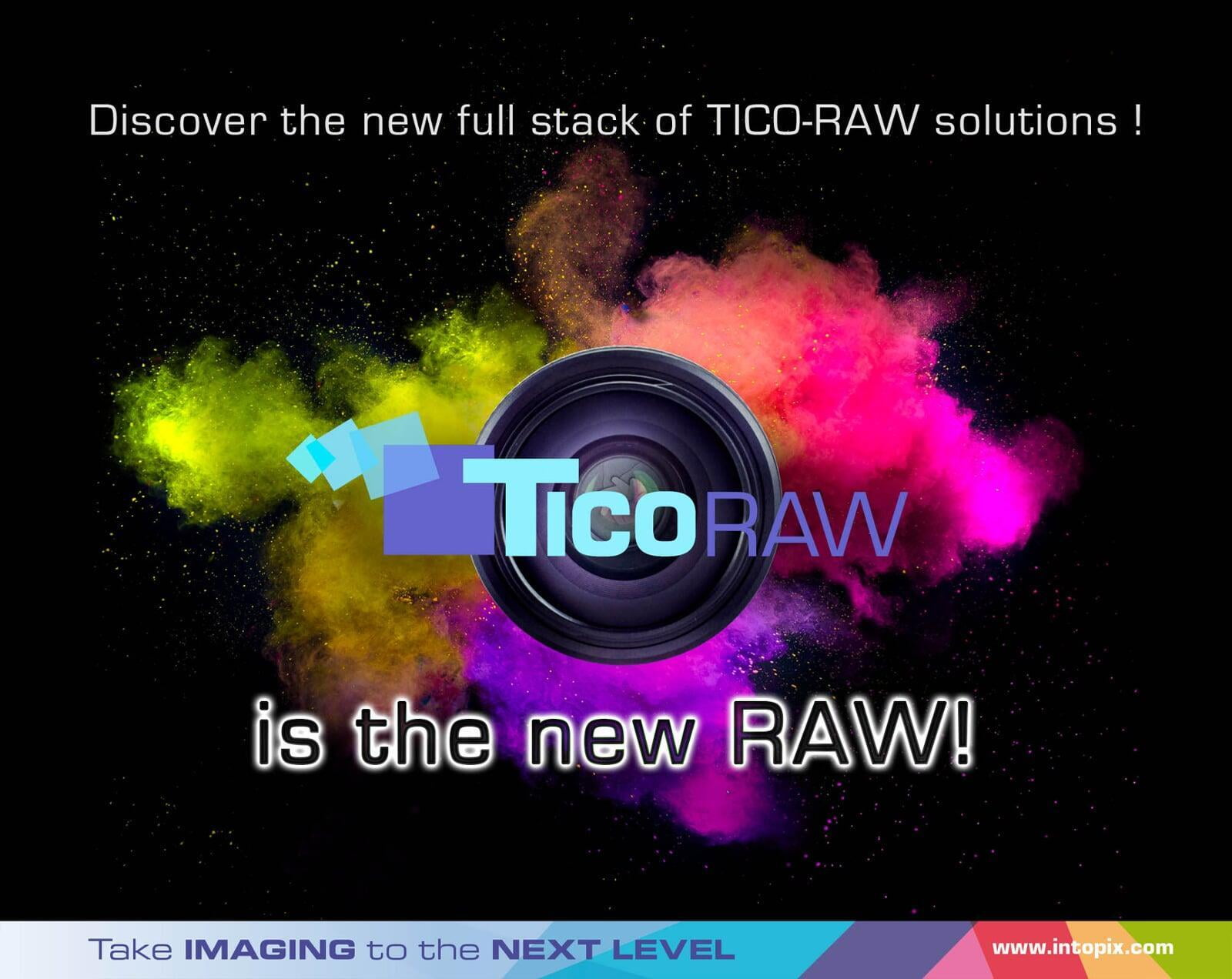 The new TICO-RAW full stack to improve RAW image workflows and camera designs