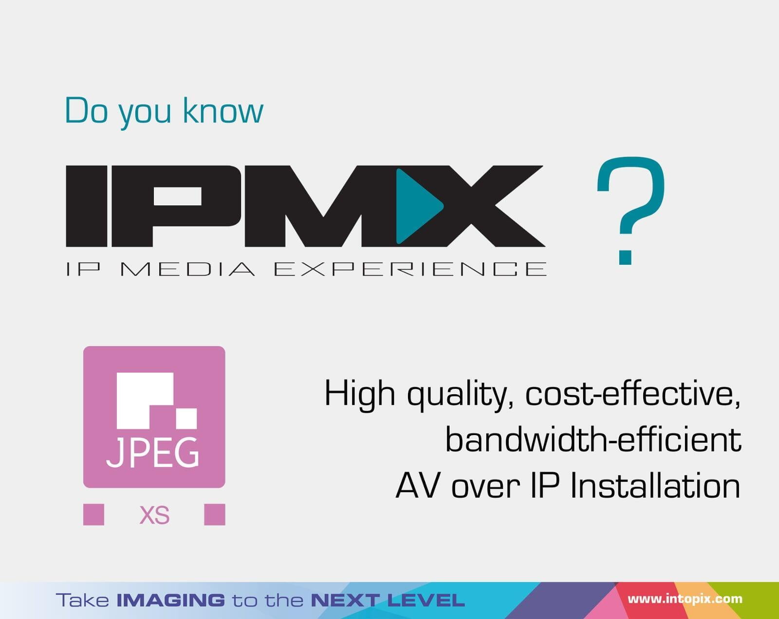 Do you know what IPMX means ?